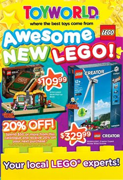 Kids, Toys & Babies offers in the Toyworld catalogue in Bairnsdale VIC