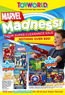 Kids, Toys & Babies offers in the Toyworld catalogue in Adelaide SA