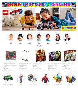 Offers from Toyworld in the Melbourne VIC catalogue