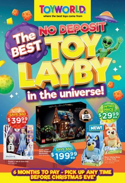 Kids, Toys & Babies specials in the Toyworld catalogue ( 6 days left)