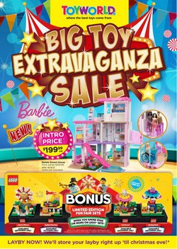 Kids, Toys & Babies specials in the Toyworld catalogue ( Expires today)