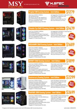 Offers from MSY Technology in the Melbourne VIC catalogue