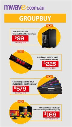 Offers from Mwave in the Sydney NSW catalogue