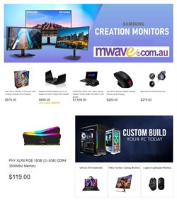 Electronics & Appliances offers in the Mwave catalogue in Sydney NSW ( Expires today )