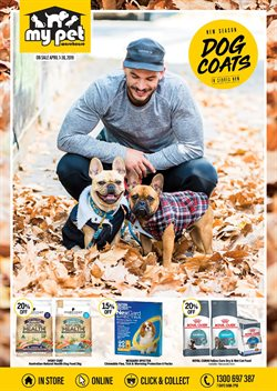 Offers from My Pet Warehouse in the Melbourne VIC catalogue