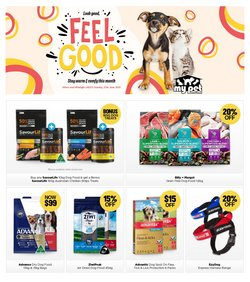 My Pet Warehouse specials in the My Pet Warehouse catalogue ( 8 days left)