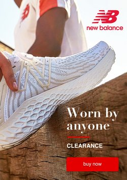 New Balance specials in the New Balance catalogue ( 27 days left)