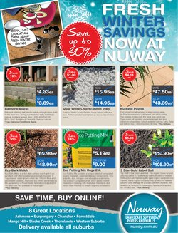 Nuway specials in the Nuway catalogue ( 6 days left)