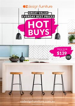 Offers from OZ Design Furniture in the Sydney NSW catalogue