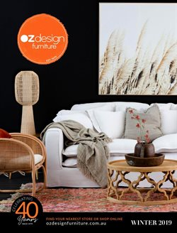 Offers from OZ Design Furniture in the Brisbane QLD catalogue