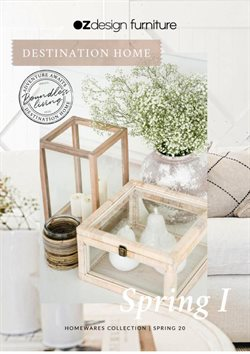 OZ Design Furniture catalogue ( More than one month )
