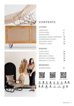Homeware & Furniture offers in the OZ Design Furniture catalogue ( More than one month )