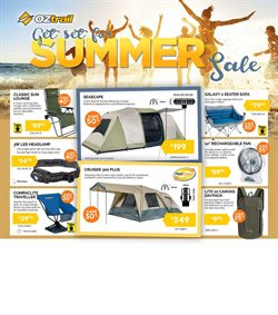Sport offers in the OZtrail catalogue in Canberra ACT