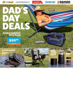 Sport offers in the OZtrail catalogue in Yass NSW