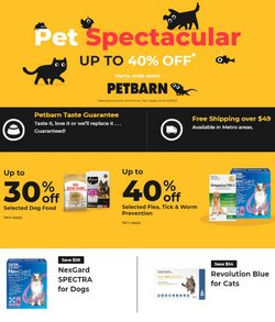 Petbarn specials in the Petbarn catalogue ( Expired)