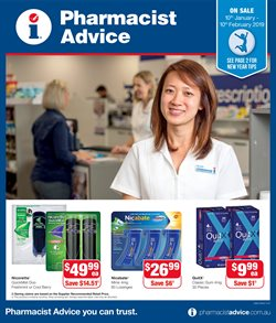 Offers from Pharmacist Advice in the Adelaide SA catalogue