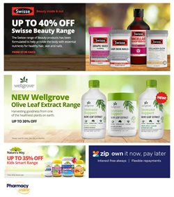 Offers from Pharmacy Online in the Sydney NSW catalogue