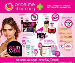 Offers from Priceline in the Albury NSW catalogue