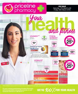 Pharmacy, Beauty & Personal Care offers in the Priceline catalogue in Bendigo VIC