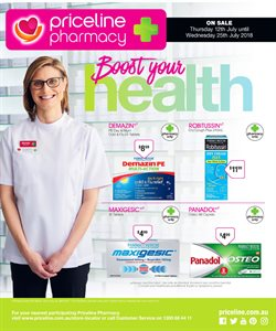 Pharmacy, Beauty & Personal Care offers in the Priceline catalogue in Mandurah WA