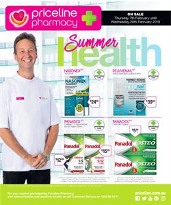 Pharmacy, Beauty & Health offers in the Priceline catalogue in Mandurah WA