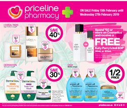 Offers from Priceline in the Bairnsdale VIC catalogue