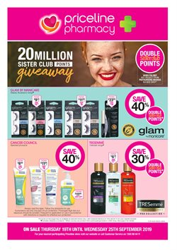 Pharmacy, Beauty & Health offers in the Priceline catalogue in Sydney NSW