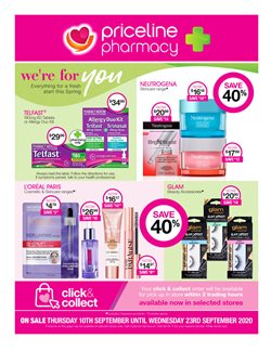 Pharmacy, Beauty & Health offers in the Priceline catalogue in Adelaide SA ( 3 days left )