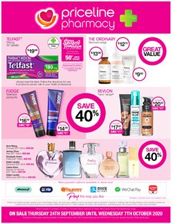 Pharmacy, Beauty & Health offers in the Priceline catalogue in Wallan VIC ( 3 days ago )