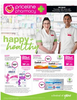 Pharmacy, Beauty & Health specials in the Priceline catalogue ( 4 days left)