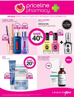 Pharmacy, Beauty & Health specials in the Priceline catalogue ( 1 day ago)