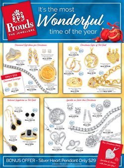 Clothing, Shoes & Accessories offers in the Prouds catalogue in Bendigo VIC