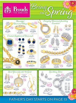 Offers from Prouds in the Sydney NSW catalogue