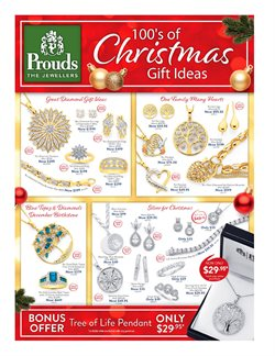 Offers from Prouds in the Canberra ACT catalogue