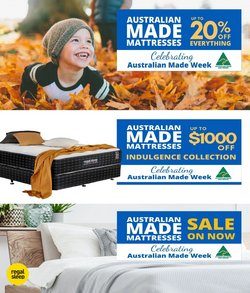 Regal Sleep Solutions specials in the Regal Sleep Solutions catalogue ( 11 days left)