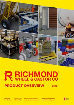 DIY & Garden specials in the Richmond Wheelmakers catalogue ( More than one month)