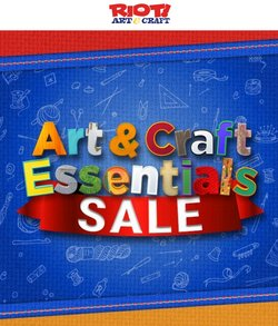 Books & Hobby specials in the Riot Art & Craft catalogue ( 1 day ago)
