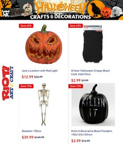 Books & Hobby specials in the Riot Art & Craft catalogue ( 10 days left)