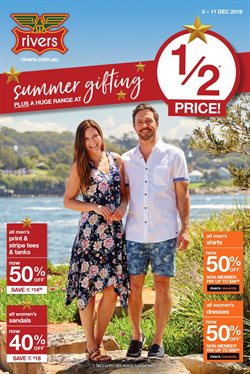 Offers from Rivers in the Nelson Bay NSW catalogue