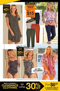 Clothing, Shoes & Accessories offers in the Rivers catalogue ( 1 day ago )