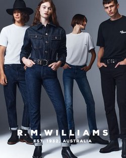 R.M.Williams specials in the R.M.Williams catalogue ( Expires today)