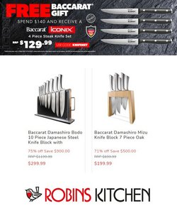 Robins Kitchen specials in the Robins Kitchen catalogue ( 5 days left)