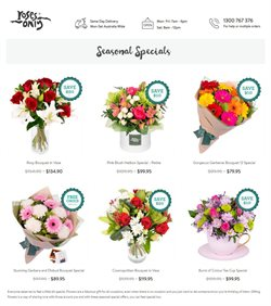Supermarkets offers in the Roses Only catalogue in Sydney NSW ( Expires today )