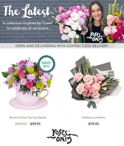 Supermarkets specials in the Roses Only catalogue ( 24 days left)