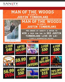 Offers from Sanity in the Yeppoon QLD catalogue