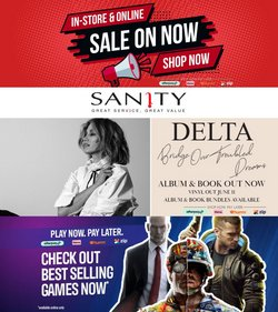 Sanity specials in the Sanity catalogue ( 27 days left)
