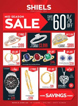 Clothing, Shoes & Accessories offers in the Shiels catalogue in Brisbane QLD