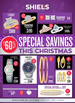 Clothing, Shoes & Accessories offers in the Shiels catalogue in Perth WA