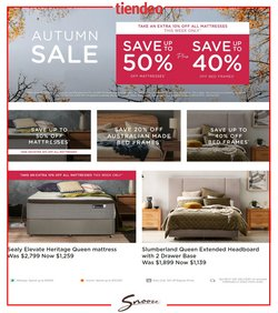 Homeware & Furniture offers in the Snooze catalogue ( 3 days left )