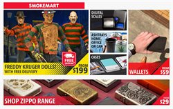 Offers from Smokemart & GiftBox in the Adelaide SA catalogue